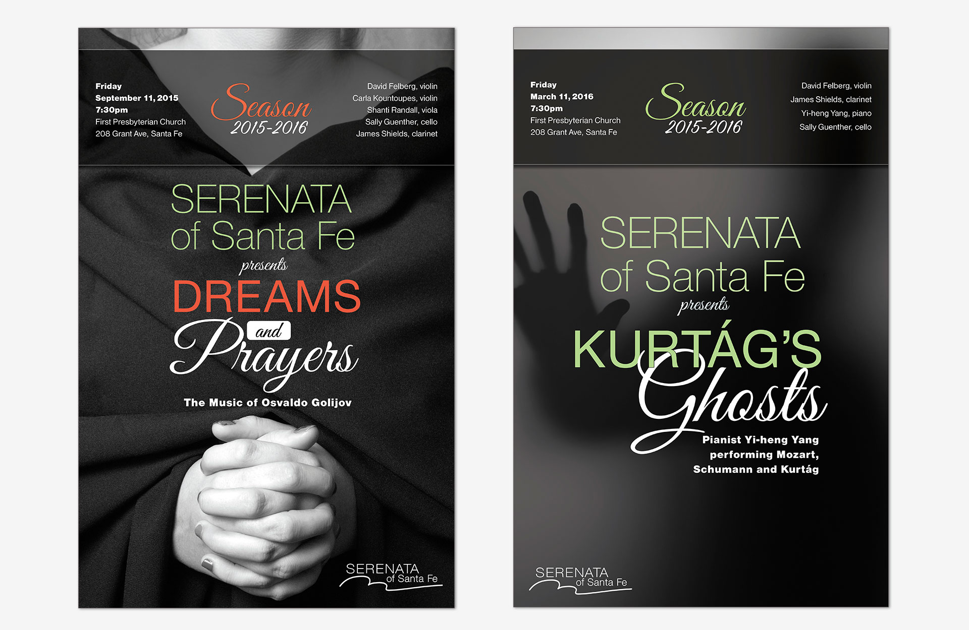 Serenata of Santa Fe Posters